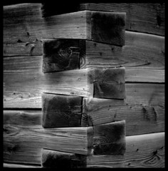 craftsmanship (irgendwiejuna) Tags: caffenol caffenolcmrs germany analogue ilfordfilm ilford ilforddelta100 delta100 rolleiflex gifhorn wood building