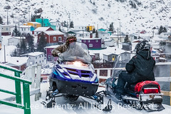 Snowmobiles are a Great Way to get around Francois Outport in Winter (Lee Rentz) Tags: newfoundland atlantic francois february atlanticocean atlanticcanada francoisbay canada colors ferry buildings coast colorful colours adventure falling coastal coastline southcoast skidoo newfoundlandandlabrador houses homes mountains horizontal landscape lights harbor fishing harbour northamerica fjord isolated fishingvillage mountainous travel snow town snowy stage snowstorm remote snowing snowmobile transporation outport winter weather village waterfront
