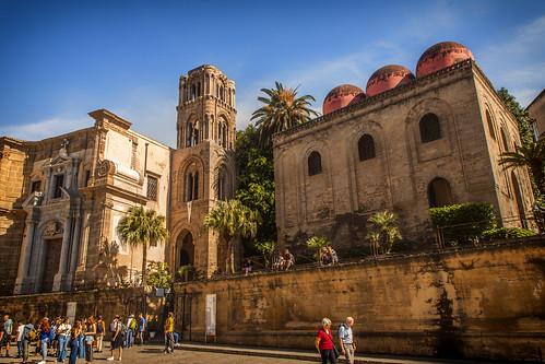 Palermo - Santa Maria dell'Ammiraglio e San Cataldo