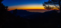 Panorama am Berg (junghahn24) Tags: balearen frühling langzeitbelichtung mallorca march meditaniensea mittelmeer märz panorama spring blauestunde fornalutx balearischeinseln spanien