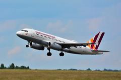 (CDG) Germanwings Airbus A319-100 D-AGWG  Takeoff runway 27L (dadie92) Tags: cdg lfpg roissy airbus a319 a319100 takeoff germanwings dagwg aircraft airplane spotting nikon d7100 sigma tamron danieldanel