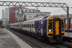 Northern 158756 (Mike McNiven) Tags: arriva railnorth northern dmu diesel multipleunit barrow barrowinfurness manchester airport deansgate manchesterairport sprinter expresssprinter
