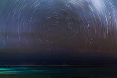 True South (pbuschmann) Tags: startrails universe kreuzdessüdens southerncross crux southernhemisphere rarotonga cookislands atoll circle earthrotation planetearth longexposure stars