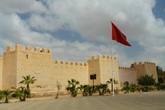 RU_201904_Maroc_426_x (boleroplus) Tags: architecture drapeau horizontal palmier ville taroudant maroc