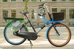 WorkCycles-Fr8-Doubleseat-littlesaddle5 (@WorkCycles) Tags: bicycle bike cargo cargobike dutch fiets fr8 mamafiets midtail transportfiets workcycles