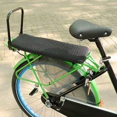 WorkCycles-Fr8-Doubleseat-littlesaddle3 (@WorkCycles) Tags: bicycle bike cargo cargobike double dutch fiets fr8 mamafiets midtail seat transportfiets workcycles