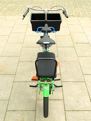 WorkCycles-Fr8-Doubleseat-littlesaddle1 (@WorkCycles) Tags: bicycle bike cargo cargobike dutch fiets fr8 mamafiets midtail transportfiets workcycles