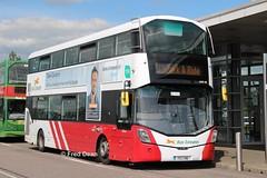 Bus Eireann VWD88 (172L1190). (Fred Dean Jnr) Tags: cork may2019 buseireann wright wrightbus volvo buseireannroute213 b5tl eclipse gemini3 vwd88 172l1190 blackashparkride