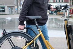 WorkCyclesKr8-gold-OneArmBandit-Neodrive3 (@WorkCycles) Tags: bakfiets cargobike crate derailleur dutch electric kr8 neodrives transportfiets workcycles