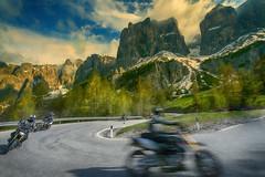 Crossing the Dolomites (Salmoopen) Tags: dolomite italy misurina braies garda alpedisiusi ranui valdifunes