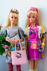 Barbies (Semitsvetik❀) Tags: snoopy fashion pack mattel barbie toy story 4 working out mini first super star