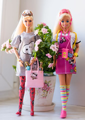 Barbies (Semitsvetik❀) Tags: star super barbie first mini out working 4 story toy mattel pack fashion snoopy