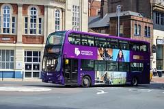 33897 SN14TRX (PD3.) Tags: 33897 sn14trx sn14 trx adl enviro 400 park ride university bus buses hampshire hants england uk portsmouth solent first group fhd firstbus
