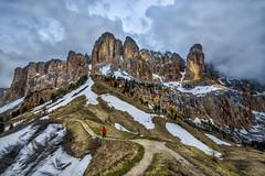 Awe Inspiring view of Dolomite Mountains... (Salmoopen) Tags: dolomite italy misurina braies garda alpedisiusi ranui valdifunes