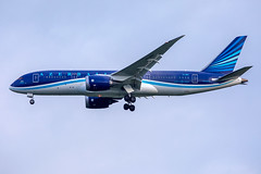VP-BBS // Azerbaijan Airlines // Boeing 787-8 Dreamliner // Stansted (SimonNicholls27) Tags: egss stansted stn europa league football aircraft aviation airlines boeing b787 7878 dreamliner azerbaijan