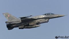 Polish Air Force F-16C Fighting Falcon (Caspar Smit) Tags: wittmund etnt f16 falcon viper fightingfalcon 4053 aircraft fighter jet aviation airplane nikon d7000 brilliantarrow