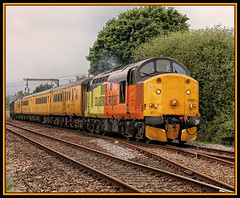 AFTER ALL THESE YEARS (OLD GIT WITH A CAMERA) Tags: class37 colasrail 37521 37057 networkrail