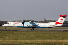 OE-LGF | Austrian Airlines | De Havilland Canada DHC-8-402Q Dash 8 | CN 4068 | Built 2002 | VIE/LOWW 04/04/2019 (Mick Planespotter) Tags: aircraft airport 2019 vienna schwechat dash8 nik sharpenerpro3 oelgf austrian airlines de havilland canada dhc8402q dash 8 4068 2002 vie loww 04042019