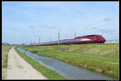 Thalys-4532+4307_Nvp_30052019 (Dennis Koster) Tags: pba pbka thalys nieuwvennep hsl hogesnelheidstrein hogesnelheidslijn passagierstrein personentrein trein 4532 4307