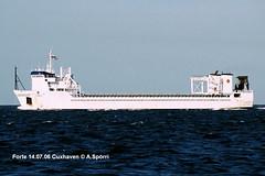 Forte (andreasspoerri) Tags: alltypesoftransport bodeweshoogezand cuxhaven forte imo8802258 niederlanden roro transport