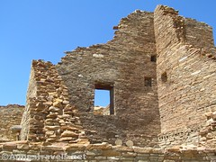 Window in Pueblo Bonito (annestravels2) Tags: pueblobonito chacoculturenationalhistoricalpark americanindian nativeamerican historic history ruin desert window walls
