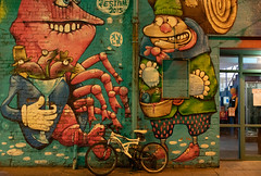 STREET ART AT RANDOM IN BELFAST [25 March 2019]-152851 (infomatique) Tags: red streetart belfast 25march streetsofbelfast ihadabadfall sony a7riii streetphotography urbanexpression urbanculture williammurphy infomatique fotonique ireland northernireland uk art culture
