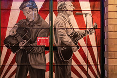 STREET ART AT RANDOM IN BELFAST [25 March 2019]-152852 (infomatique) Tags: red streetart belfast 25march streetsofbelfast ihadabadfall sony a7riii streetphotography urbanexpression urbanculture williammurphy infomatique fotonique ireland northernireland uk art culture