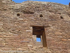 Window in a Window (annestravels2) Tags: pueblobonito chacoculturenationalhistoricalpark americanindian nativeamerican historic history ruin desert window walls