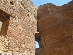 Corner Window (annestravels2) Tags: pueblobonito chacoculturenationalhistoricalpark americanindian nativeamerican historic history ruin desert window walls