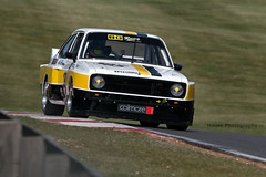 Brown & Geeson Ford Escort Mk2 (2) ({House} Photography) Tags: colmore ytcc touring cars automotive masters historic festival brands hatch uk kent fawkham race racing motorsport motor sport housephotography timothyhouse canon 70d sigma 150600 contemporary brown geeson ford escort mk2