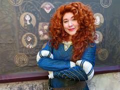 Merida (meeko_) Tags: merida princess princessmerida brave pixar characters disneycharacters pixarcharacters fairytalegarden fantasyland magic kingdom magickingdom themepark walt disney world waltdisneyworld florida