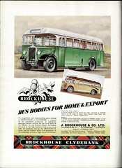 Brockhouse Bus Bodies for home and export : advert issued by J Brockhouse, Clydebank, Scotland, c1950 (mikeyashworth) Tags: commercialvehicleindustry1950 1950 vehiclemanufacturers mikeashworthcollection jbrockhouse brockhouseengineering hilltop westbromwich clydebank scotland brockhousebusbodies foden albionmotors livingstonest accra ghana thegoldcoast brockhouseorganisation busbodies coachbodies coachworks advert brockhouseclydebank thistle tartan