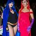Raven - Teen Titans / Jessica Rabbit - Who Framed Roger Rabbit