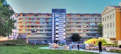 Colors (serge der) Tags: colors pula croatia building batiment exterieur outside green blue orange ciel sky toned