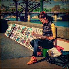 Paris. Street portrait! (vzotov.doc) Tags: paris street portrait fujifilm xpro1 xf35mmf14 r vladimir zotov