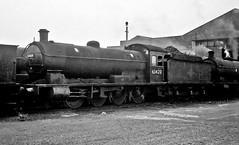 63420, Leeds Neville Hill, July 1965 (David Rostance) Tags: 63420 lner classq6 leeds nevillehill engineshed westyorkshire