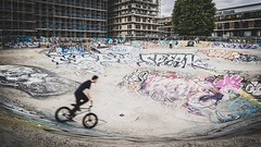 a short story about less known London (ignacy50.pl) Tags: bike bikers colorful graffiti action streetphotography colors reportage london