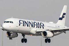 OH-LZP   Finnair   Airbus A321-231(WL)   CN 7661   Built 2017   VIE/LOWW 04/04/2019 (Mick Planespotter) Tags: ohlzp finnair airbus a321231wl 7661 2017 vie loww 04042019 aircraft airport 2019 schwechat vienna nik sharpenerpro3 flight a320