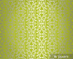 green  & silver vintage wallpaper background design (Wolf3x) Tags: abstract vintage wallpaper background nature green brown ocher silver leaf floral flower smooth antique baroque beauty bright creative damask decor decoration decorative design elegance fabric graphic gray illustration monochromatic monochrome old pastel ornament ornate pale paper pattern renaissance repetition retro revival rococo seamless silk swirl textile texture tile vector victorian