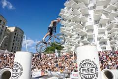 FISE Montpellier 2019 (Marc ALMECIJA) Tags: sport extreme extrême montpellier urban urbain outdoor outside ville vélo bicycle fise trial fasttrial danger dangerous dangereux sony rx10m3