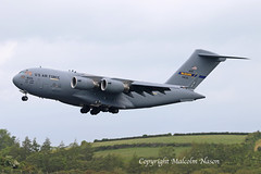"C17A GLOBEMASTER 3 04-4133 USAF ""McGUIRE"" (1) (shanairpic) Tags: military transport c17a globemaster3 shannon usaf"