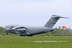 "C17A GLOBEMASTER 3 04-4133 USAF ""McGUIRE"" (shanairpic) Tags: military transport c17a globemaster3 shannon usaf"