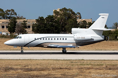 Global Jet Luxembourg Dassault Falcon 900DX 'LX-SAB' LMML - 29.05.2019 (Chris_Camille) Tags: runway pilot pilotstories aviation avgeek canon canonphotography canonaviation withcanonyoucan red clouds airline airlineofthemalteseislands maltese islands canon5d aviationgeek mla airport takeoff fly sky plane aircraft airplane maltairport spotting planespotting registrations spottinglog global jet luxembourg dassault falcon 900dx lxsab lmml 29052019