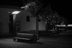 The sound of silence (lebre.jaime) Tags: portugal beira covilhã nightphotography bench church digital bw blackwhite noiretblanc pb pretobranco ff fx fullframe nikon d600 voigtländer nokton 58f14sliis affinity affinityphoto