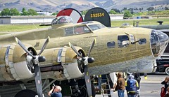 1944 Boeing B-17G Flying Fortress N93012 c/n 322624 at Livermore Airport California 2019. (17crossfeed) Tags: collingsfoundation b17g b17 flyingfortress livermoreairport aviation airport aircraft airplane flying flight 17crossfeed claytoneddy landing tower taxi takeoff b24 b25 airshow pilot planes planespotting plane p51 p40 pitts