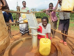 Thank you for this gift of life-saving water! (W4KI) Tags: w4ki water safe clean h4ki restore hope 4pillarsofhope dignityhealthjoylove dignity health joy love transform village community sibina uganda