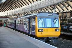142090-NC-10022019-1 (RailwayScene) Tags: class142 142090 pacer railbus leyland arriva northern newcastle