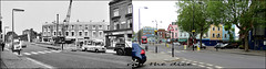 Ladbroke Grove`1971-2019 (roll the dice) Tags: london w10 kensingtonchelsea old sad mad surreal changes collection canon tourism tourists local history retro seventies bygone nostalgia comparison icecream streetfurniture architecture urban england council uk classic art oldandnew pastandpresent hereandnow regeneration dirty rough traffic vanished demolished community northkensington ironbridge greatwesternrailway trees lights