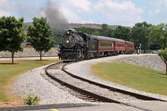 630 Steam Locomotive (ChrisChen76) Tags: tennesseevalleyrailwaymuseum steamlocomotive steamtrain chattanooga georgia usa