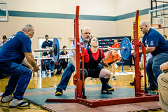 Determination (rg69olds) Tags: 05242019 5dmk4 canonef24105mmf4lisusm canoneos5dmarkiv nebraska athlete canon omaha people special specialolympics sport volunteer weightlifting determination squats lifting teamwork